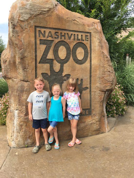 Kids at Nashville Zoo